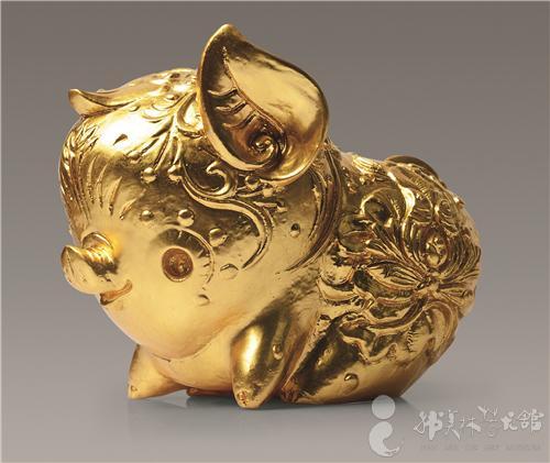 过年了!韩美林的猪年作品,萌动送福图片